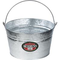 Behrens Manufacturing - Galvanized Hot Dipped Pails-Silver-4.25 Gallon