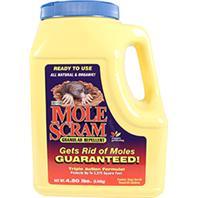 Enviro Protection Ind-Mole Scram Granular Repellent-4.5 Pound