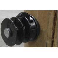 Dare Products Inc-Elfin Wood Post Insulator-Black-25 Pack