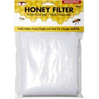Miller Mfg  - Little Giant Fabric Honey StraIncheser - White - Fits 5 Gal Bckt