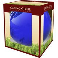 Alpine Corporation - Glass Gazing Globe-Blue-10 Inch