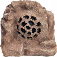 Alpine Corporation - Solar Bluetooth Enabled Rock Speaker-Brown-11 Inch