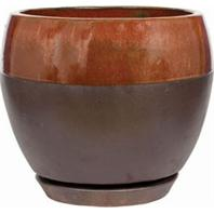 Southern Patio - Clayworks Kendell Egg Planter - Cppr - 8 Inch