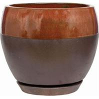 Southern Patio - Clayworks Kendell Egg Planter - Cppr - 12 Inch