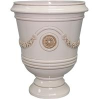 Southern Patio - Porter Urn - Ivory - 15.5 Inch