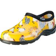 Principle Plastics Inc - Sloggers Womens Waterproof Comfort Shoe-Chicken Yellow-10