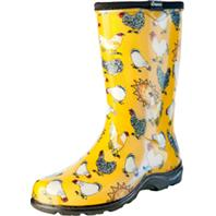 Principle Plastics Inc - Sloggers Womens Waterproof Comfort Boot-Chicken Yellow-8