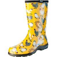 Principle Plastics Inc - Sloggers Womens Waterproof Comfort Boot-Chicken Yellow-9
