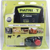 Tru - Test - Patriot Pmx50 Fence Energizer - Black - Up To 15 Mile