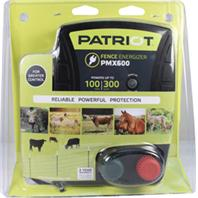 Tru - Test - Patriot Pmx600 Fence Energizer - Black - Up To 100 Mile