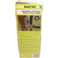 Tru-Test-Lockable Gate Latch 2Way-Grey-1 5/8  - 2