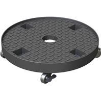 Panacea  - Heavy Weight Plastic Caddy-Black-14 Inch
