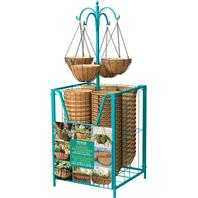 Panacea  - Trough & Hanging Basket Bin Loaded Display-Assorted-54 Pc