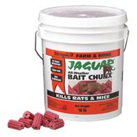 Motomco - Jaguar All-Weather Bait Chunx Rat And Mouse Killer-20 Gm/ 18 Pound