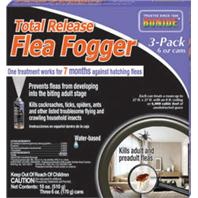 Bonide Products  - Total Release Flea Fogger - 6 Oz/3 Pk