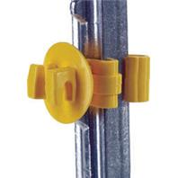 Dare Products Inc-Snug T-Post Insulator-Yellow-25 Pack
