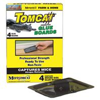 Motomco - Tomcat Prebaited Glue Boards Mouse Trap-4 Pack