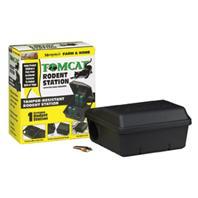 Motomco - Tomcat Rodent Tamper-Resistant Station-Black-1 Pack