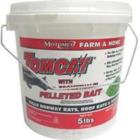 Motomco  - Tomcat Bromethalin Pelleted Bait-5 Pound