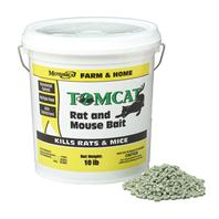 Motomco - Tomcat Rat And Mouse Bait Pellets-10 Pound