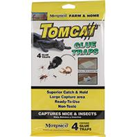 Motomco - Tomcat Glue Traps For Mice And Insects-4 Pack