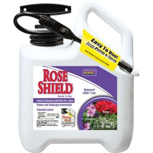 Bonide Products - Rose Shield Pump And Spray Ready To Use - 1.33 Gallon