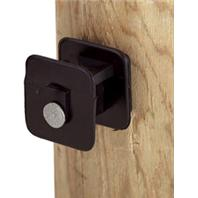 Dare Products Inc-Black Widow Insulator For Wood Post-Black-25 Pack