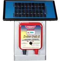 Parker Mccroy/Baygard - Parmak Deluxe Field Solar Pak6 Solar Fence Charger-Blue-25 Mile / 6V