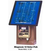 Parker Mccroy/Baygard - Parmak Magnum Solar Pak12 Solar Fence Charger-Brown-30 Mile / 12V