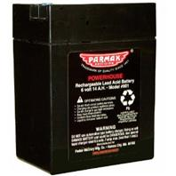 Parker Mccroy/Baygard - Parmak Replacement Battery For Parmak Fencers-Black-6 Volt