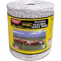 Parker Mccrory/Baygard - Heavy Duty Polywire - White - 1312 Ft