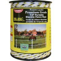 Parker Mccrory/Baygard - Premium Electric Rope - Yellow/Black - 656 Ft