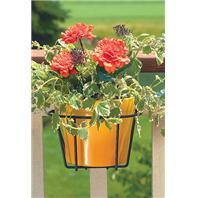 Panacea  - Adjustable Flower Pot Holder-Black-10 Inch