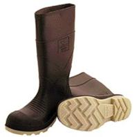 Tingley Rubber Corp. - Pvc Knee High Boots With Plain Toe-Brown-8