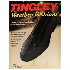 Tingley Rubber - Weather Fashions Trim Rubber Overshoes - Black - Medium