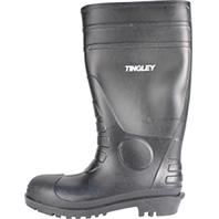 Tingley Rubber Corp. - Economy Pvc Knee Boots-Black-Size 7