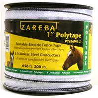 Woodstream Zareba - Zareba Poly Tape Roll-White-1 Inx200 Meters