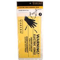 Woodstream Zareba - Zareba Electric Fence Warning Signs--3 Pack