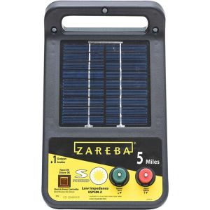 Woodstream Zareba - Zareba 5 - Mile Solar Energizer - Black - 5 Mile