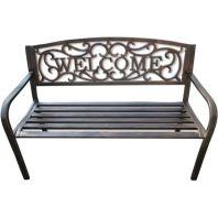 Ddi - Welcome Garden Bench - Bronze
