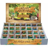 Page Seed - Page'S Urban Garden Vegetable Counter Display - 450 Pc