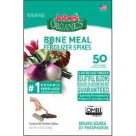 Jobes Company - Jobe'S Organics Bone Meal Fertilizer Spikes - 50 Ct