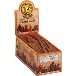 Happy Howies - Beef Woof Stix Bulk - Beef - 6 Inch