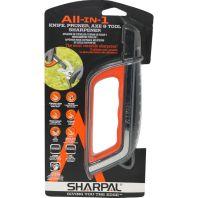 Sharpal - All-In-1 Knife Pruner And Tool Sharpener - Black/Orange