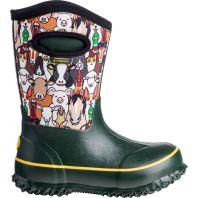 Perfect Storm - Barnyard Fun Kids Boot - Black - 4