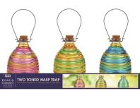 Alpine Corporation - Wasp Trap Two Toned Tray Pack - 8 Inch