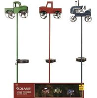Alpine Corporation - Solar Farm Truck Led Stakes Display - 33 Inch
