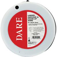 Dare Products Inc-Electric Fence Underground & Hook Up Wire-Black-14Gauge/165Foot