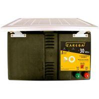 Woodstream Zareba - Zareba Solar Low Impedance Charger - Black - 30 Mile