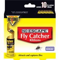 Bonide Products - Revenge No Escape Fly Catcher Ribbons--10 Pack